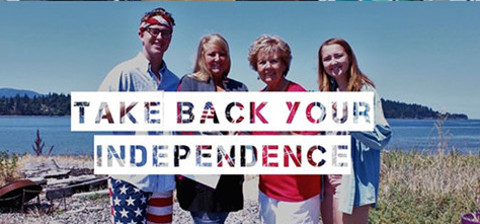 Take Back Your Independence